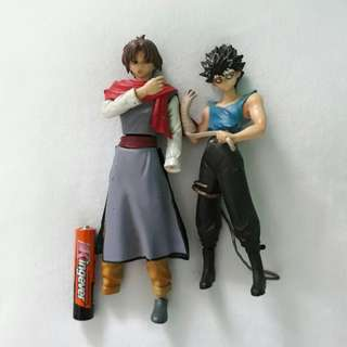 Ghost fighter figures