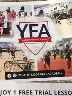 Youth Floorball Academy Free Trial