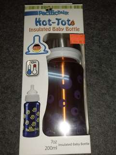 Hot -tot .Insulated Baby Bottle