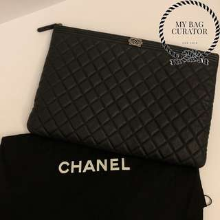 Chanel Boy Large O'Case