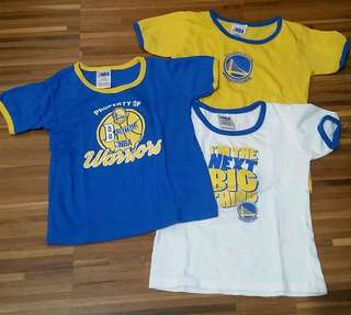 NBA Golden State 3-pc Infant T-Shirts