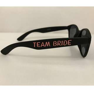 DIY Custom Bridesmaid, Maid of Honor, Maid of Honour Bride Gift Vinyl Decal for Glasses
