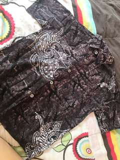 Batik Short Sleeve Shirt (Boy)