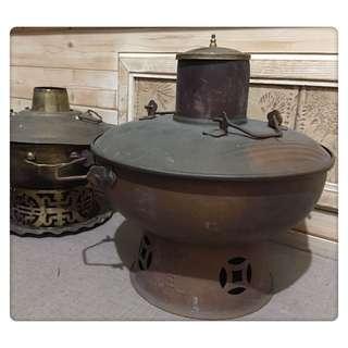 🚚 老物件 紅銅 火鍋