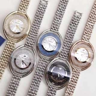Swarovski 施華洛世奇18年最新款Stella腕錶 專櫃售價39xx 現特價:$2650 保證100%Real