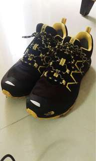 The North Face Black and Yellow Sneaker Shoe