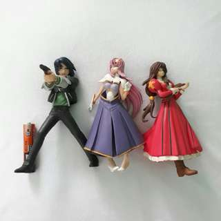 Gundam anime figures set