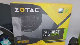 graphic cards gtx 1070 zotac