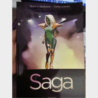 SAGA vol 4 (#19-24) Brian K. Vaughan Fiona Staples