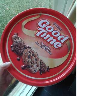 Good Time chocochip assorted cookies