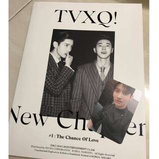 Ready Stock TVXQ - NEW CHAPTER 1 : THE CHANCE OF LOVE