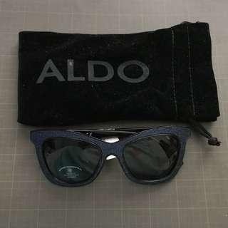 ALDO Blue Glitter Sunglasses