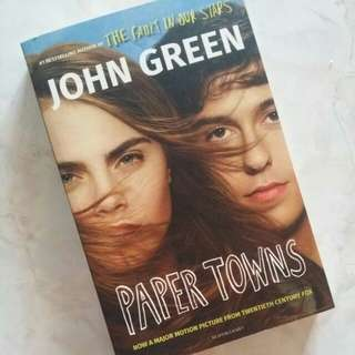 Paper Towns by John Green (almost perfect condition)