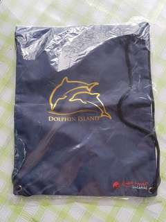 1pc Brand New Resorts World - Dolphin Island Back Pack for Sale