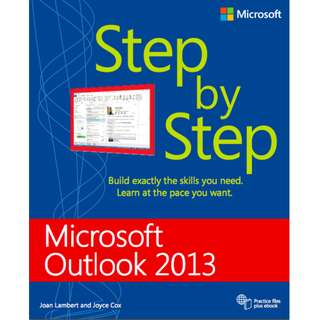 Microsoft Outlook 2013 Step by Step (576 Page Mega eBook)