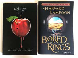🚚 Parody Books - Nightlight & Bored of The Rings (2 Books)
