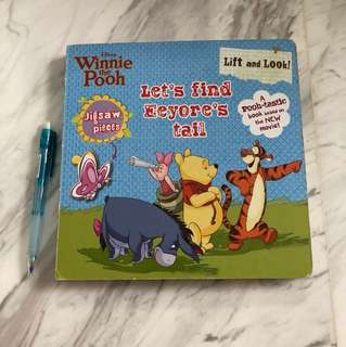 Winnie The Pooh Puzzle Book