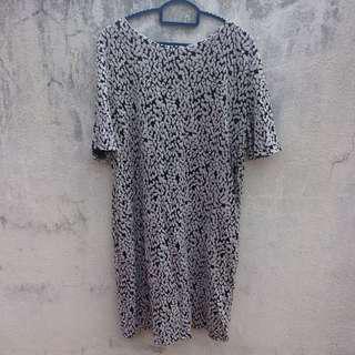 F block Dress