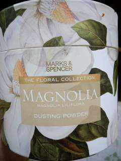 M&S: The Floral Collection: Magnolia Dusting Powder