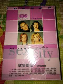 Sex and the city, complete season 1-6 dvd, brand new