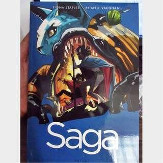 SAGA vol 5 (#25-30) Brian K. Vaughan Fiona Staples