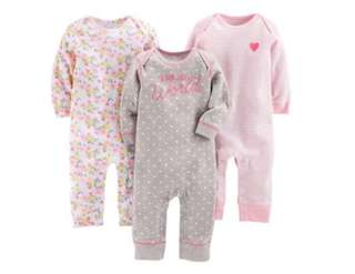 🚚 *3M* Brand New Carter's Jumpsuits For Baby Girl #CarouPay