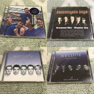 Robbin Williams/Backstreet boys/Westlife sgd 4