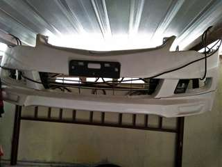 Honda Civic FD2 front bumper with lips