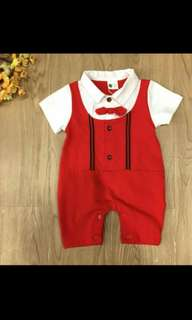 Baby Romper Red
