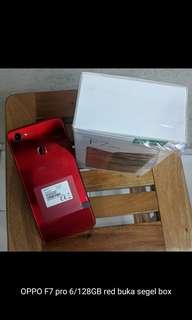 Handphone OPPO F7 Red Garansi Resmi bisa di cicil/kredit Cukup KTP+SIM/KK