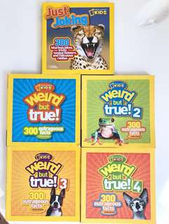 🚚 National Geographic Kids Series (5 Books)
