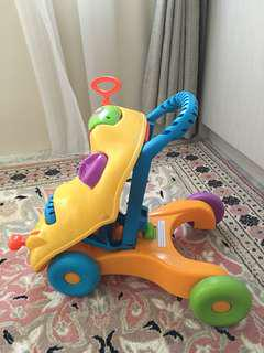 Playskool 2 in 1 walker and ride
