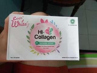 Everwhite hi-collagen bonus 2 sachet