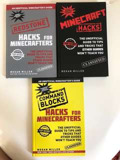🚚 Minecraft Hacks (3 Books)