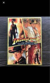 Indiana Jones - The Complete Adventure Collection (4 🎥) DVD code 1