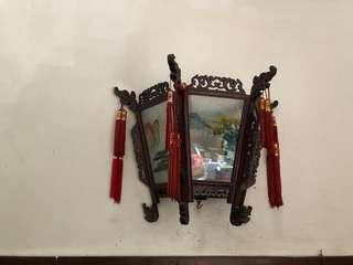 Chinese wall lantern
