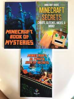 🚚 Minecraft Books is Secrets and Mysteries (3 Books)