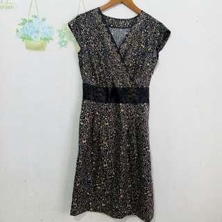 Preloved Batik Dress Custom Made