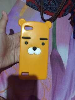 Neo 7 oppo case handphone | softcase | character orange