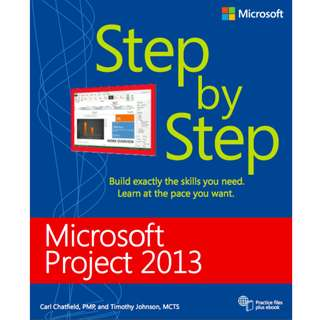 Microsoft Project 2013 Step by Step (576 Page Mega Full Colored eBook)