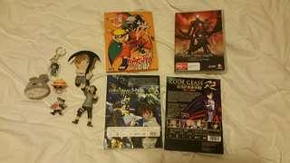 Naruto figurines, dvd anime and more!