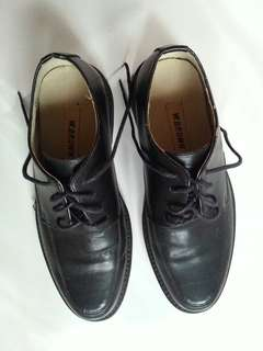 W. BROWN BLACK FORMAL SHOES
