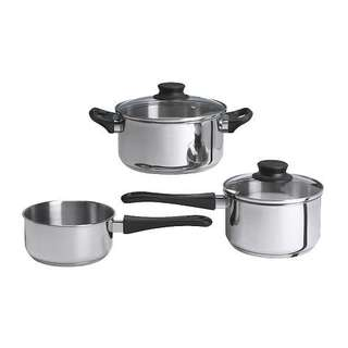 IKEA ANNONS 5-piece Cookware Stainless steel