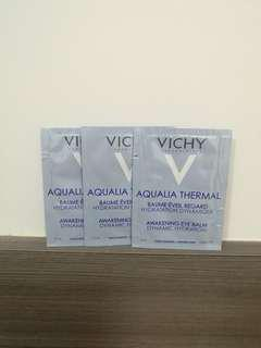 法國Vichy Sample AQUALIA THERMAL 溫泉礦物保濕系列溫泉礦物活水循環保濕眼霜awakening eye balm