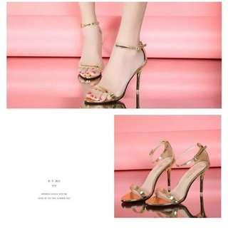 SHH169 Sepatu Heels Cantik Wanita 9CM