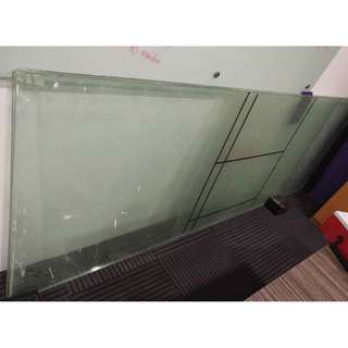 Glass partition/wall/board tempered 2900 x 950