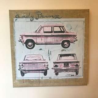 Francfranc print canvas