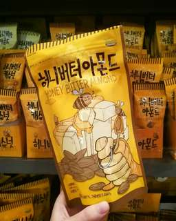 Korea Honey Butter Almond