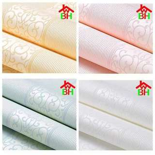 #014 3d High Grade non-woven wallpaper  (8 designs)