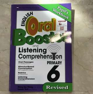P6 Oral booster with CD (brand new)